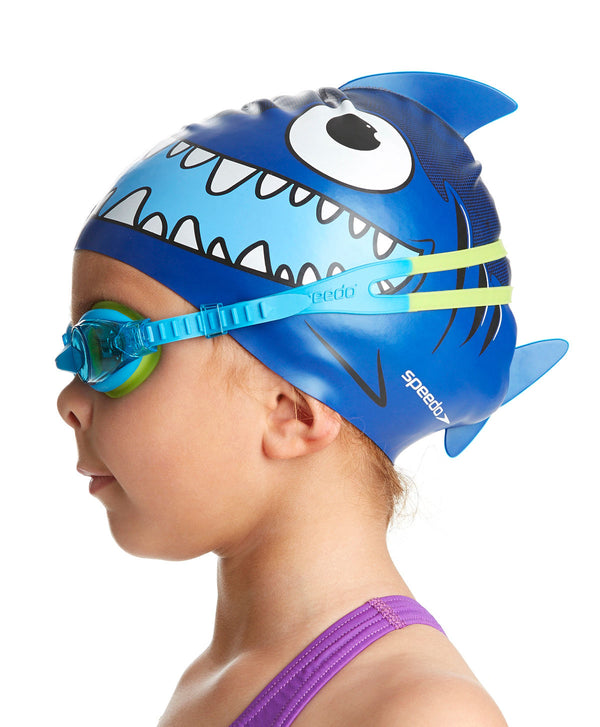 Speedo Sea Squad Cap& Goggles Set Blue