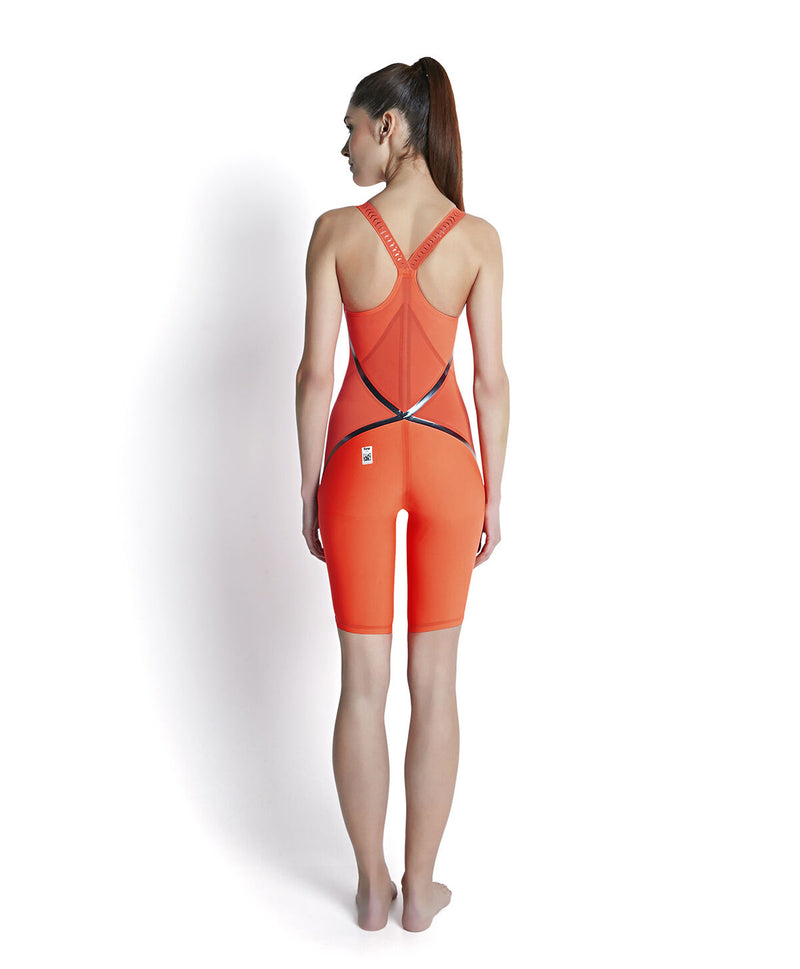 Speedo Fastskin LZR Racer X Closed Back Kneeskin Orange