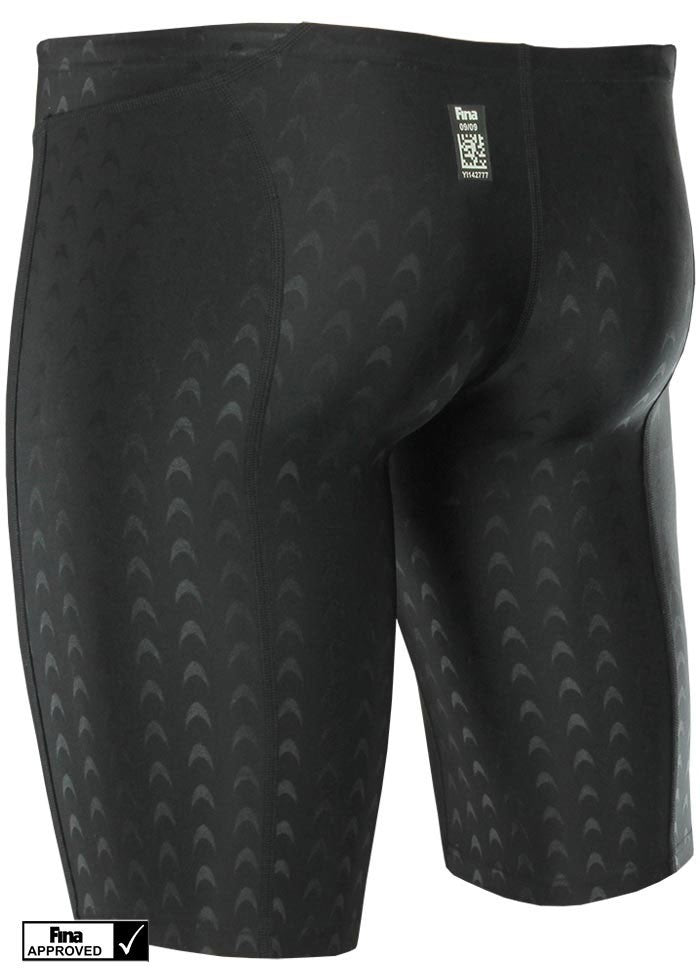 Yingfa Mens 9205-1 Sharkskin Jammers Black