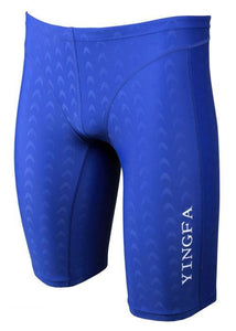 Yingfa Mens 9205-2 Sharkskin Jammers Blue