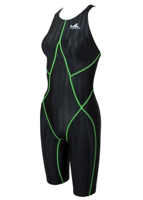 Yingfa 937-2 Lightning Sharkskin KneeSkin Black/Green