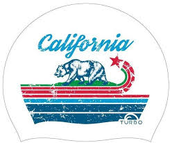Turbo Swim Cap California 9701842