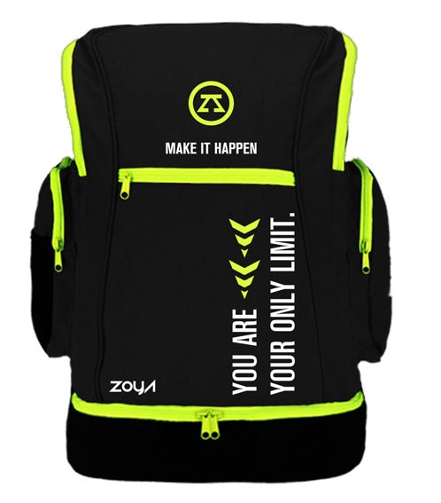 Zoya Aqua Backpack Black 2020 + Waterproof Cover