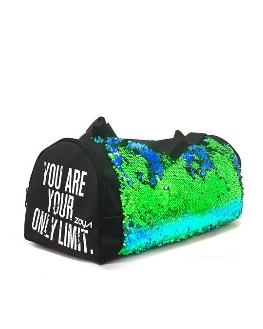 Zoya Sparkle Pro Duffle Bag Green*Blue