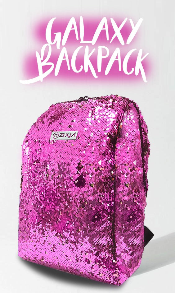 Zoya Galaxy Backpack Fuschia