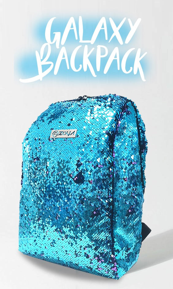 Zoya Galaxy Backpack Blue