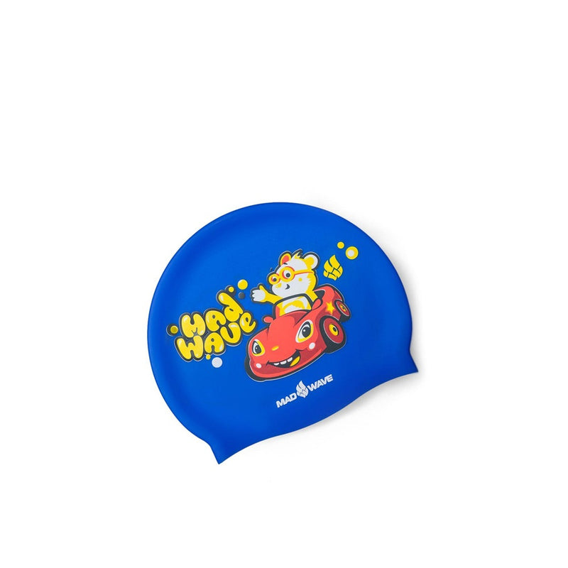 Madwave Teddy Bear Swim Cap