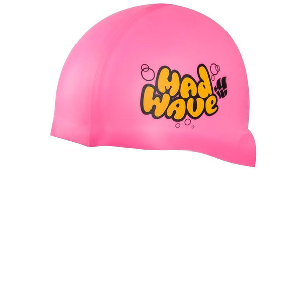 Madwave Silicon Pink Junior Swim Cap