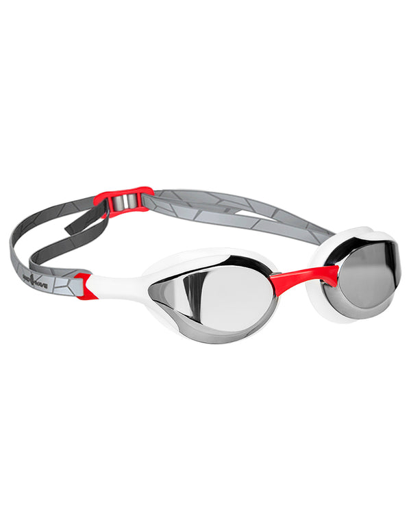 Mad Wave Alien Mirrored Goggles - Red