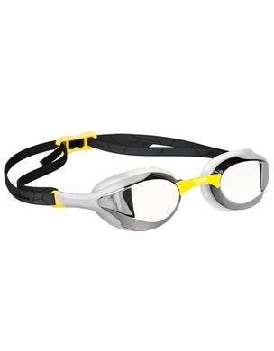 Mad Wave Alien Mirrored Goggles - Yellow