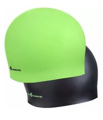 Madwave Reverse Champion Lime Green.Black Swim Cap