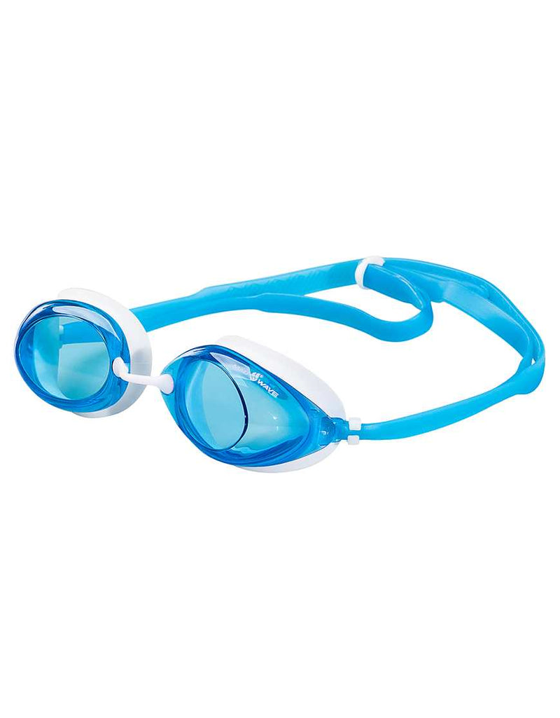 Mad Wave Lane 4  Goggles -Blue white