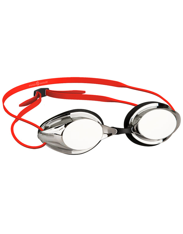 Madwave Streamline Mirrored Goggle Red Metalic