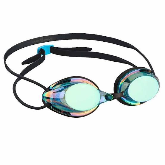 Madwave Streamline Rainbow Mirrored Goggle Blue/Black