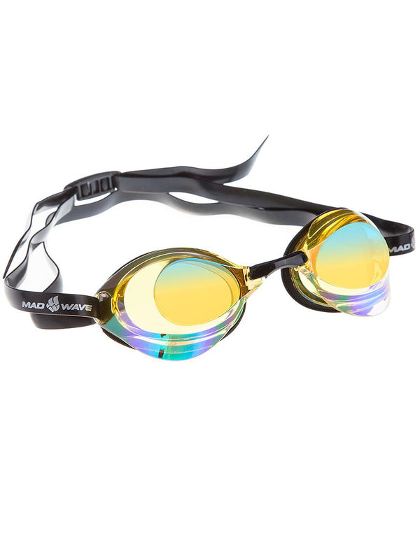 Madwave Turbo Racer II Rainbow Mirror Goggle Yellow