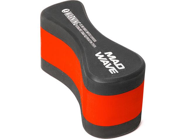 Mad Wave EXT Pullbuoy Black.Red