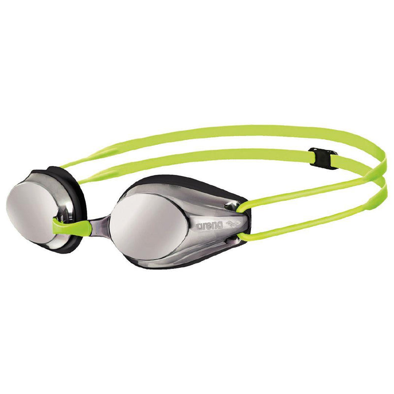Arena Tracks JR Mirror Silver-Black-Fluoyellow