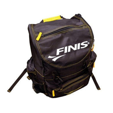 FINIS Torque Backpack, Black/Yellow