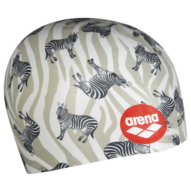 Arena swimcap Poolish 4 Zebra