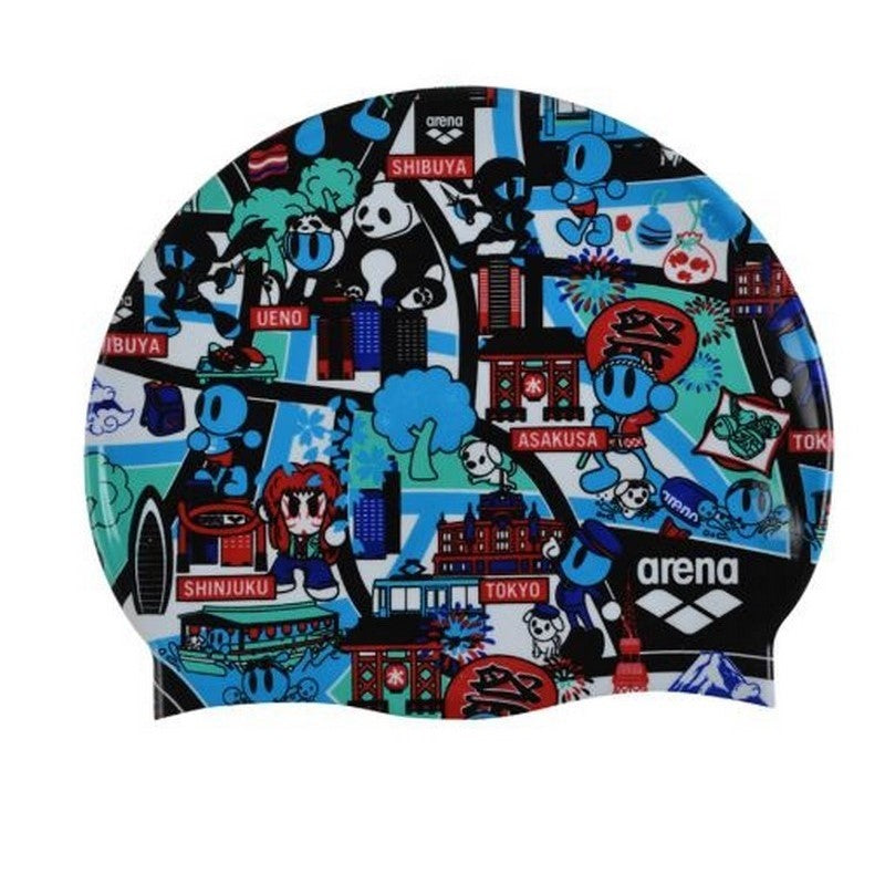 Arena swimcap Print2 Assortment Kun