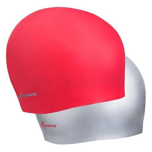 Madwave Reverse Champion Red/Silver Swim Cap