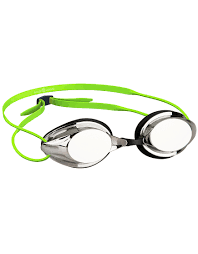 Madwave Streamline Mirrored Goggle Green/Metalic