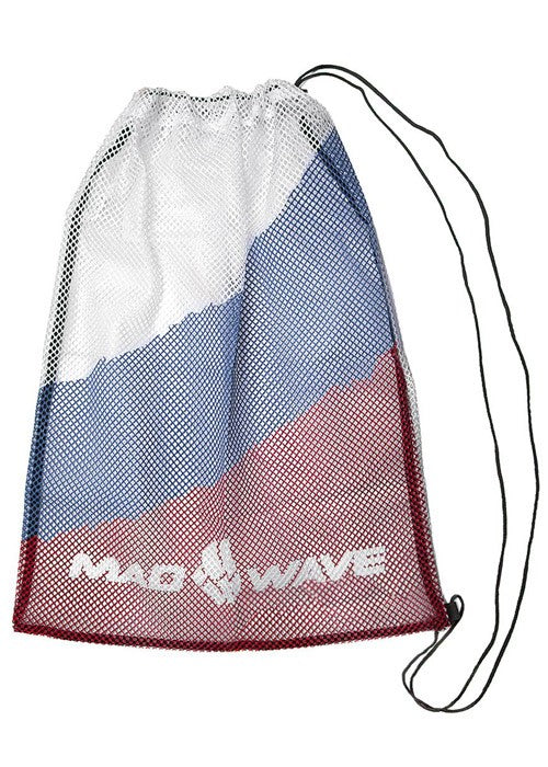 Mad Wave Dry Mesh Bag Red, Blue and White