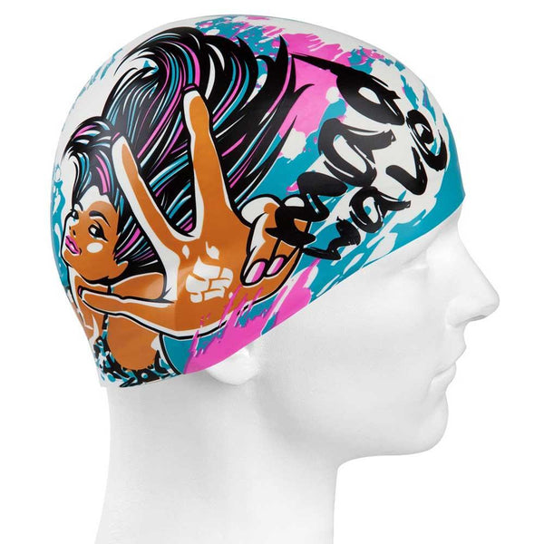Mad Wave Mad Girl Swim Cap