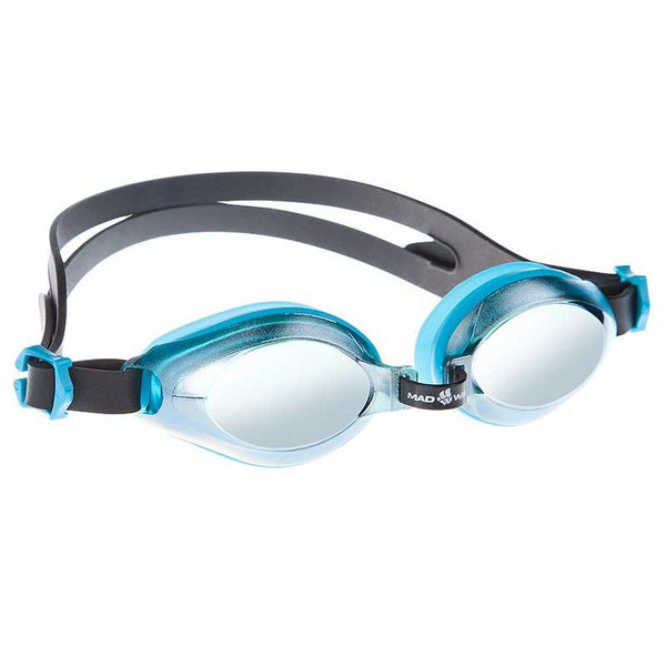 Mad Wave Aqua Mirrored  Goggles - Azure