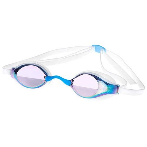 Madwave Record Breaker  Rainbow Mirrored Goggle White