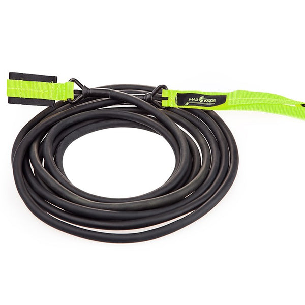 Mad Wave Long Safety Cord Black Green - 3.6 - 10.8kg