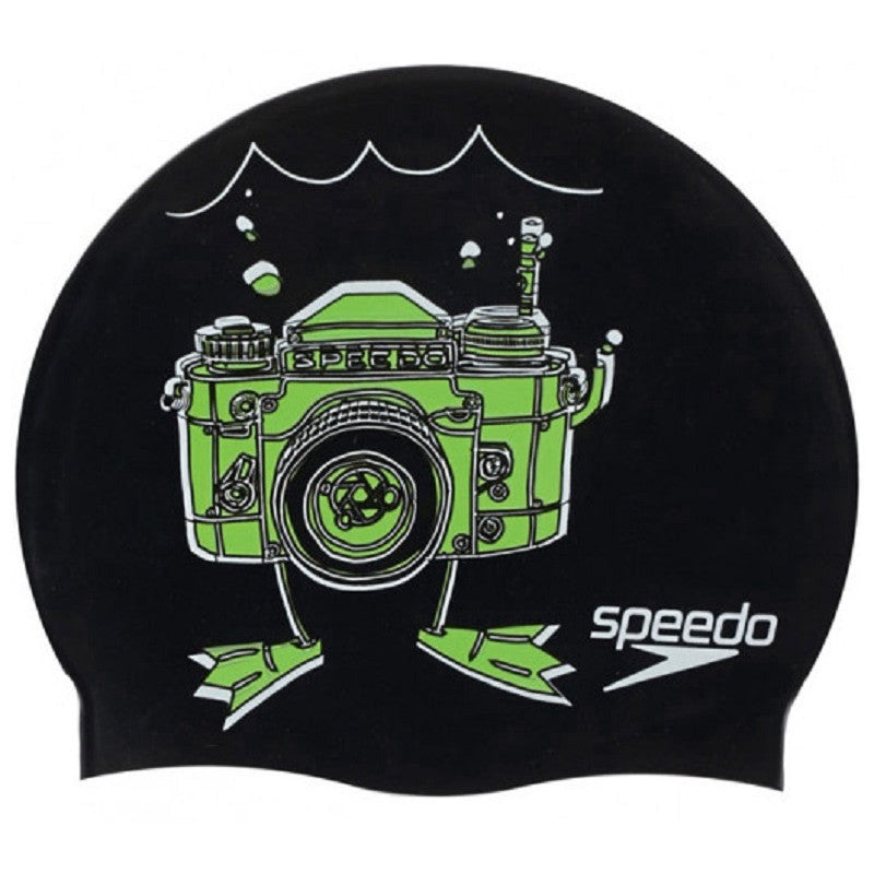 f Speedo Slogan Print Cap Junior Camera