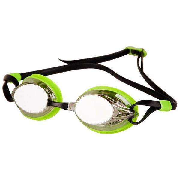 Madwave Spurt Mirror Goggle Green/Black