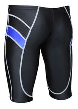Load image into Gallery viewer, Yingfa 9402-1 Lightning Arrow Sharkskin Jammers Black/Blue