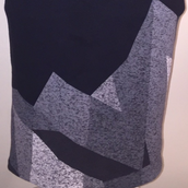 Black White and Grey Nike Dress