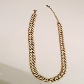 Reversible Gold/White Necklace