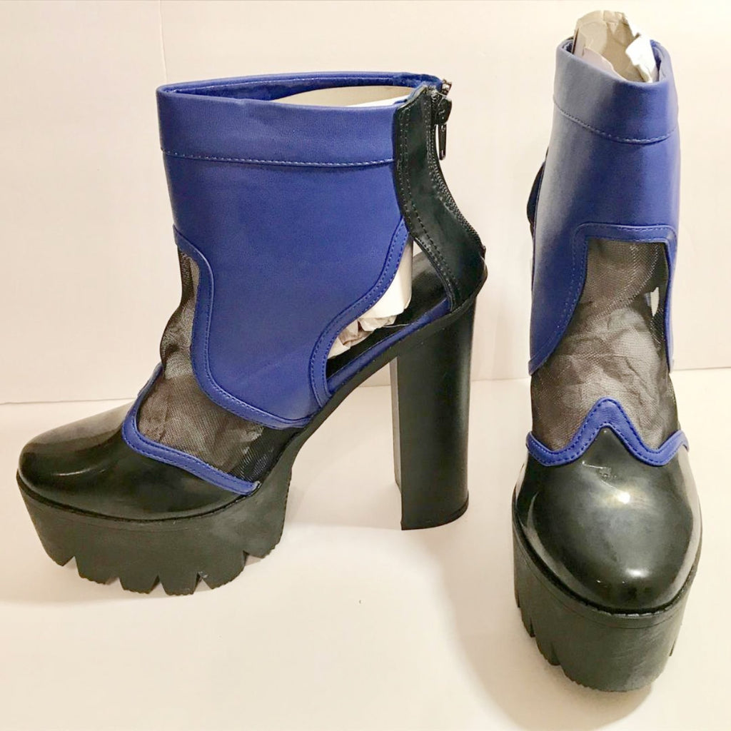 Royal Black platforms