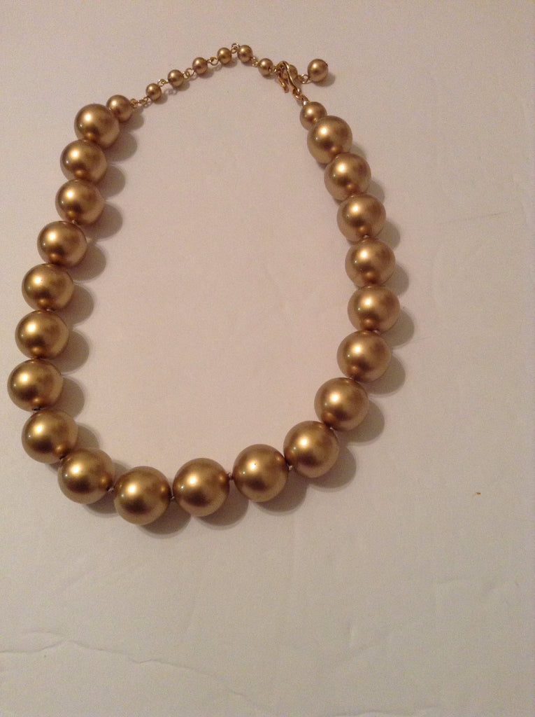 Necklace Goldtone