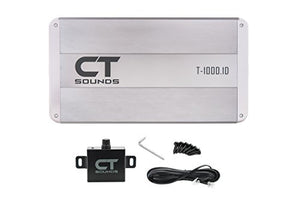 CT Sounds T-1000.1 Monoblock Car Amplifier 1000w Amp