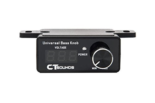 CT Sounds Universal Bass Knob With Digital Volt Meter