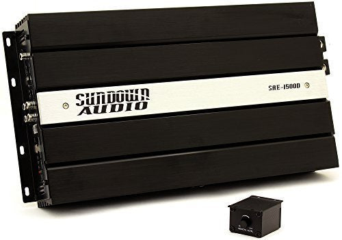 SAE-1500D - Sundown Audio Monoblock 1500W RMS Digital Class D Amplifier