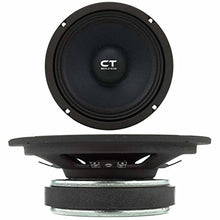 "CT Sounds Tropo Pro Audio 6.5""-Set of 1 (Black)"