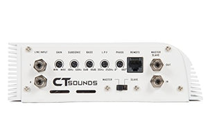 CT Sounds AT-1400.1 Class D Monoblock Car Amplifier