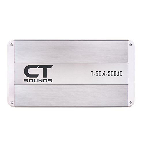 CT Sounds T-50.4+300.1 5 Channel Car Audio Amplifier 580w RMS Amp