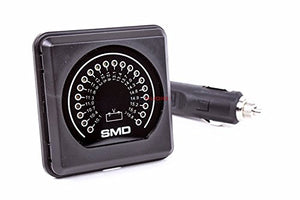 SMD VM-1 Analog LED DC Volt Meter (12v) by MSD Ignition