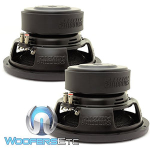 "E-10 V.3 D2 PAIR - Sundown Audio 10"" 500W RMS Dual 2-Ohm EV.3 Series Subwoofers"