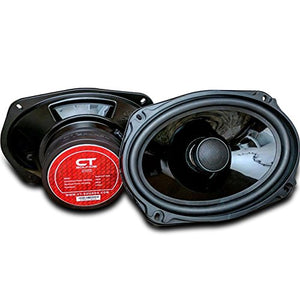 CT Sounds Strato 6x9 Inch Car Audio Coax Door Speaker Set - Pair