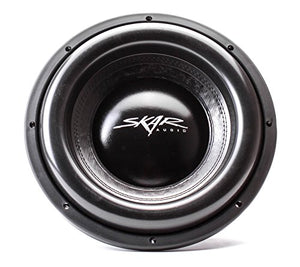 "Skar Audio EVL-12 D2 12"" 2500 Watt Max Power Dual 2 Ohm Car Subwoofer"