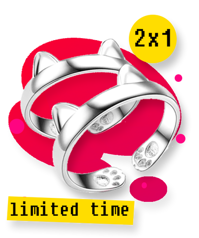 *PROMO* [2X1 OR 50% OFF] Cute Cat Ring