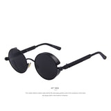 Steampunk Round UV400 Sunglasses